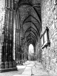 Ruins of Holyrood Abbey Nave, Edinburgh