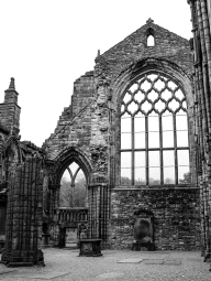 Ruins of Holyrood Abbey, Edinburgh